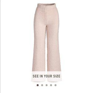NWOT SKIMS cozy knit pant pink sz L/XL
